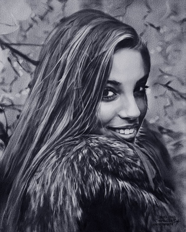 031 630x785 Amazing Celebrity Portraits from Dmitry Smirnovs Artworks