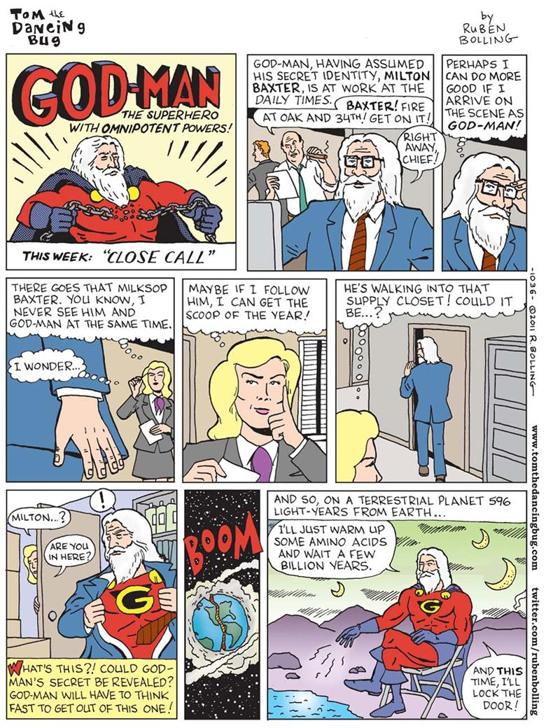 051511 1842 WhyGodManis1 Why God Man is Not a Superhero [Comic]