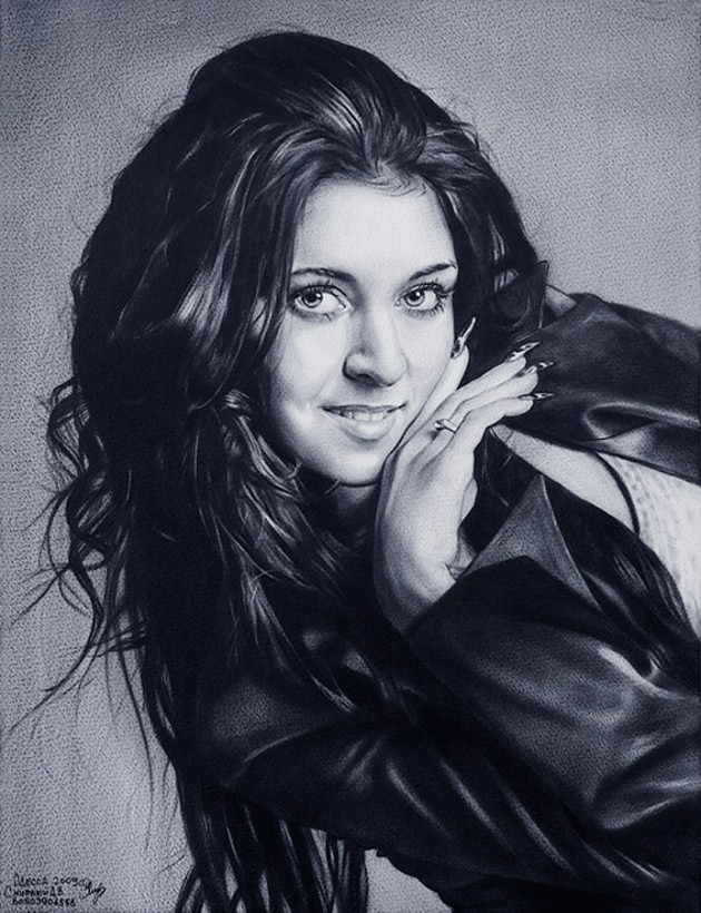 131 630x820 Amazing Celebrity Portraits from Dmitry Smirnovs Artworks