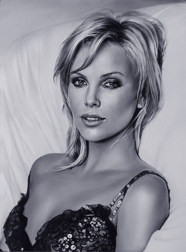 5 630x850 Amazing Celebrity Portraits from Dmitry Smirnovs Artworks