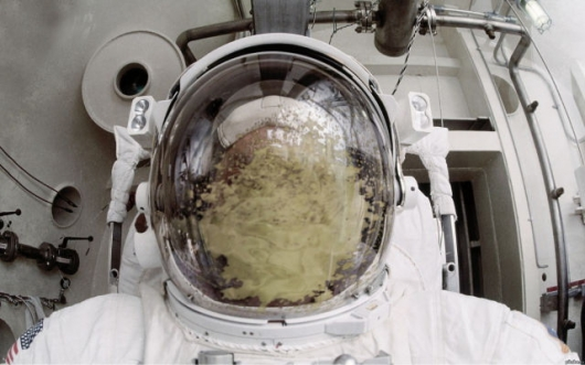 Astronaut-Puke