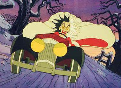 101 Dálmatas El 30 de Wickedest villanos de Disney