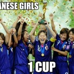 11 Japanese Girls 1 Cup