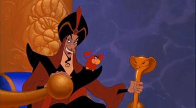 Aladdin El 30 de Wickedest villanos de Disney