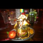 Asked for a burger with everything on it.