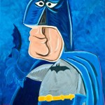 Bat-Man-Painting