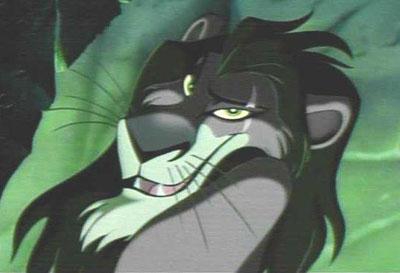 El Rey León El 30 de Wickedest villanos de Disney