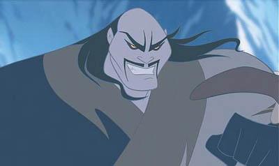 Mulan El 30 de Wickedest villanos de Disney