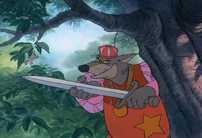 Robin Hood1 El 30 de Wickedest villanos de Disney