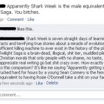 Shark Week. Nailed it.