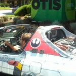 Starwars car with R2D2 on the back!