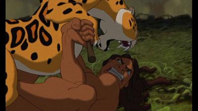 Tarzan El 30 de Wickedest villanos de Disney