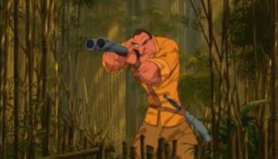 Tarzan1 El 30 de Wickedest villanos de Disney