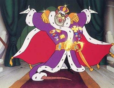 The Great Mouse Detective El 30 de Wickedest villanos de Disney