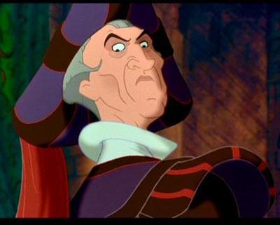El jorobado de Notre Dame El 30 de Wickedest villanos de Disney