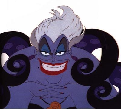 La Sirenita El 30 de Wickedest villanos de Disney