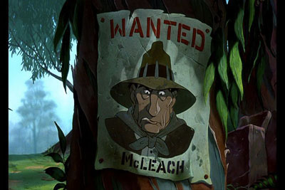 Los Rescatadores en el 30 de Wickedest villanos de Disney