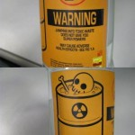 WARNING Toxic Waste