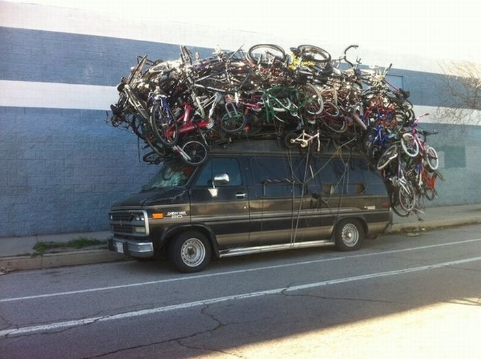All of your bikes are belong to me...