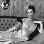 Leslie Caron as she appears in GIGI, 1958.