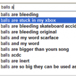 My balls ar... What