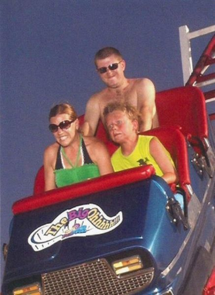 People From Roller Coasters ThumbPress 14 Winners and Losers from Roller Coasters (62 Pics)