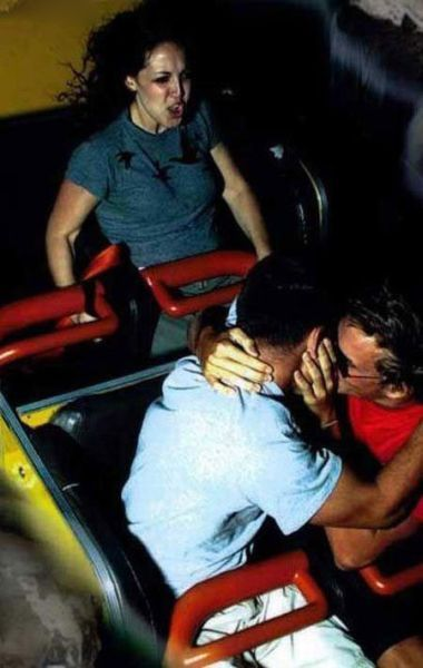 People From Roller Coasters ThumbPress 24 Winners and Losers from Roller Coasters (62 Pics)