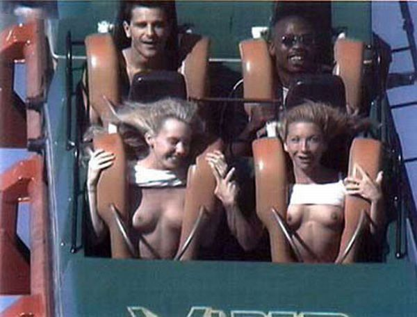 People From Roller Coasters ThumbPress 25 Winners and Losers from Roller Coasters (62 Pics)