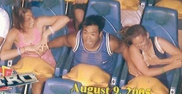 People From Roller Coasters ThumbPress 28 Winners and Losers from Roller Coasters (62 Pics)