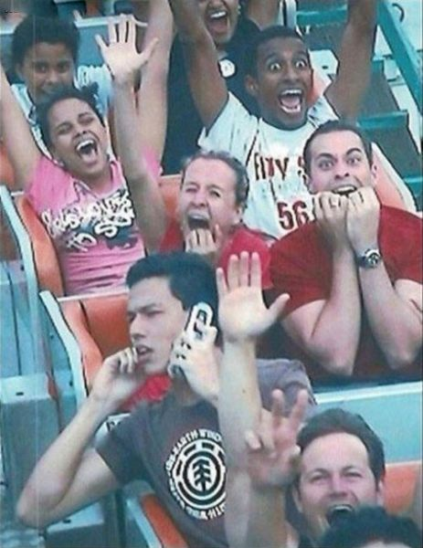 People From Roller Coasters ThumbPress 37 Winners and Losers from Roller Coasters (62 Pics)