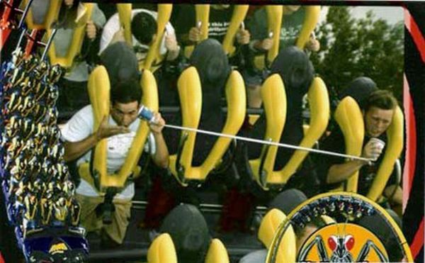 People From Roller Coasters ThumbPress 41 Winners and Losers from Roller Coasters (62 Pics)