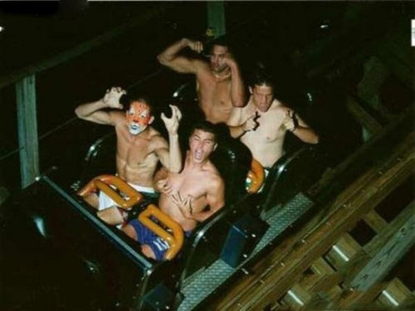 People From Roller Coasters ThumbPress 48 Winners and Losers from Roller Coasters (62 Pics)