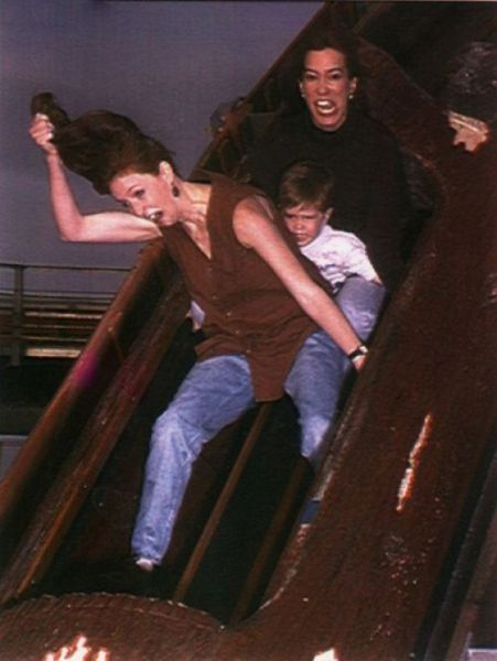 People From Roller Coasters ThumbPress 52 Winners and Losers from Roller Coasters (62 Pics)