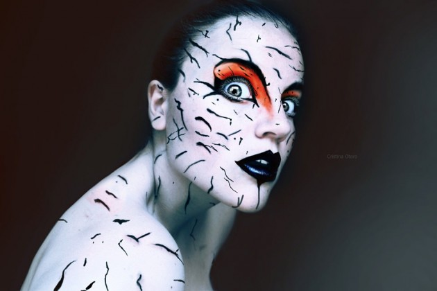 Photographs by Cristina Otero 10 630x420 The Most Beautiful Scary Faces Youll See (Hi Res Photos)