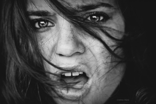 Photographs by Cristina Otero 11 630x420 The Most Beautiful Scary Faces Youll See (Hi Res Photos)