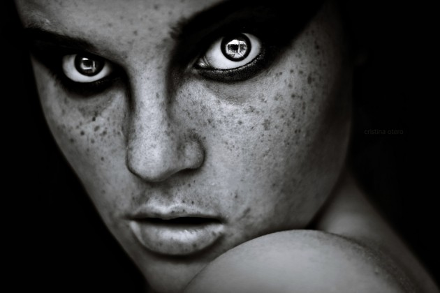 Photographs by Cristina Otero 12 630x420 The Most Beautiful Scary Faces Youll See (Hi Res Photos)