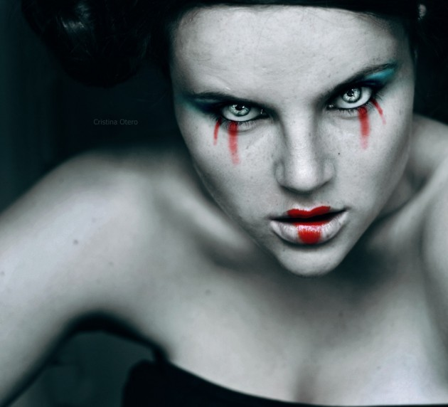 Photographs by Cristina Otero 35 630x572 The Most Beautiful Scary Faces Youll See (Hi Res Photos)
