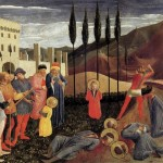 The Beheading Of Sait Cosmas And Saint Damian By Fra Angelico