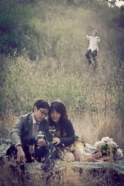 Zombie Wedding Photoshoot 02