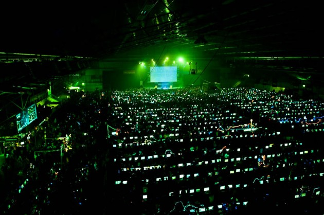 biggest lan party ever 630x418 Mind Blower Of The Day: The Worlds Largest Lan Party