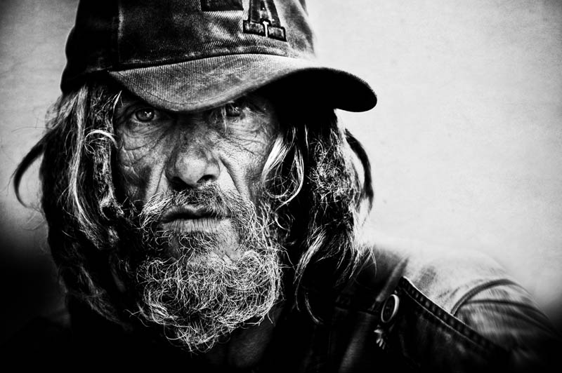 homeless black and white portraits lee jeffries 2 25 Incredibly Detailed Black And White Portraits of the Homeless by Lee Jeffries