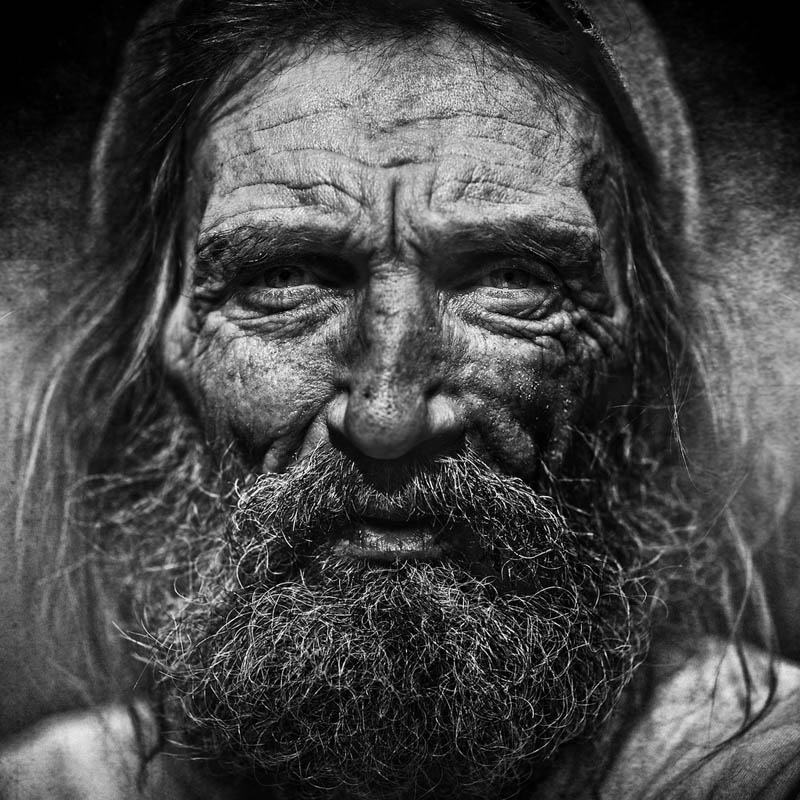 Homeless People Portraits Photography By Lee Jeffries: 25 Incredibly Detailed Black And White Portraits Of The