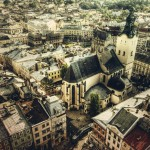 lviv-ukraine-skyline-aerial