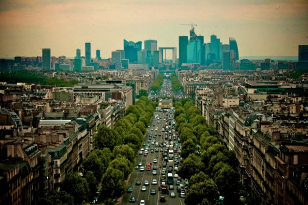 paris skyline aerial 630x419 25 Awesome Pictures Of Skylines From Around The World
