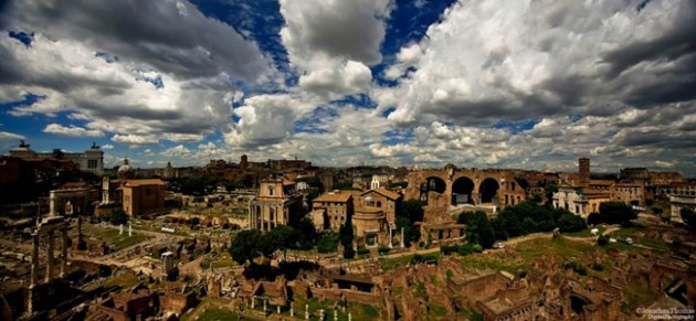 rome italy skyline aerial 630x291 25 Awesome Pictures Of Skylines From Around The World