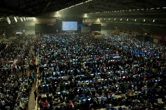 worlds biggest lan party 630x418 Mind Blower Of The Day: The Worlds Largest Lan Party