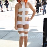 Dressed as Leeloo from the 5th Element for Fan Expo!