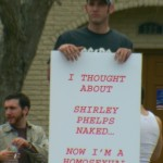 Funniest Westboro Baptist Church counter protest sign I've seen.
