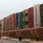 The Kansas City Library is made out of books