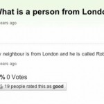 What is a person from London called